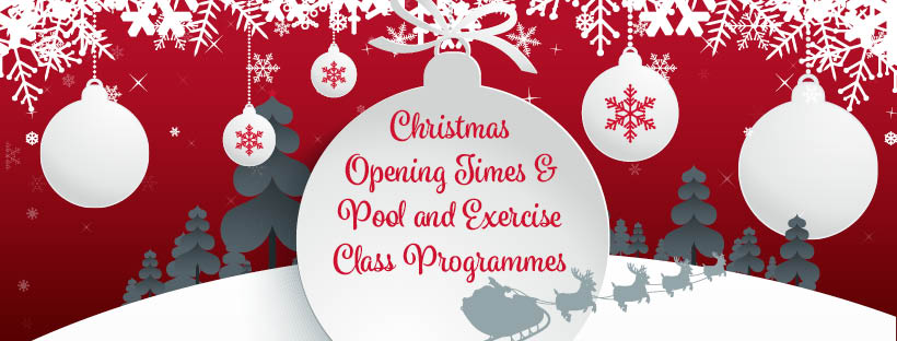 Christmas opening closing times New Year Newton Abbot Leisure Centre Broadmeadow Sports Centre Dawlish Leisure Centre