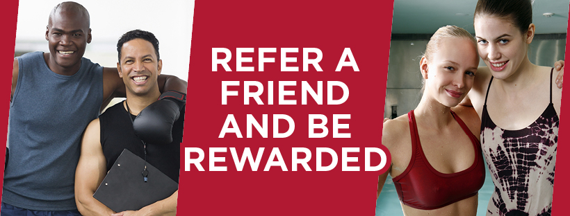refer a friend and receive a free month on us