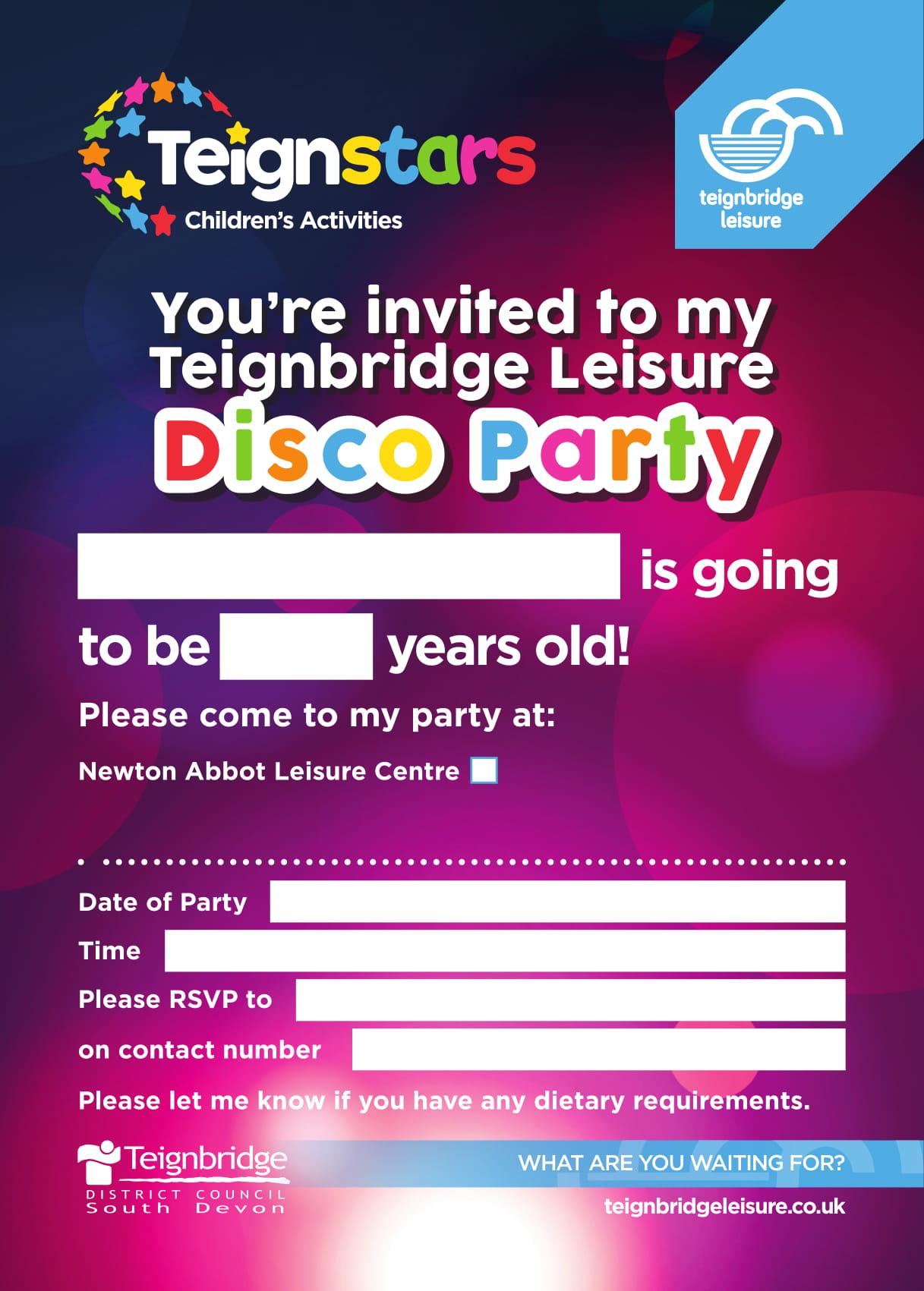 84430_Disco_Party_Invitations