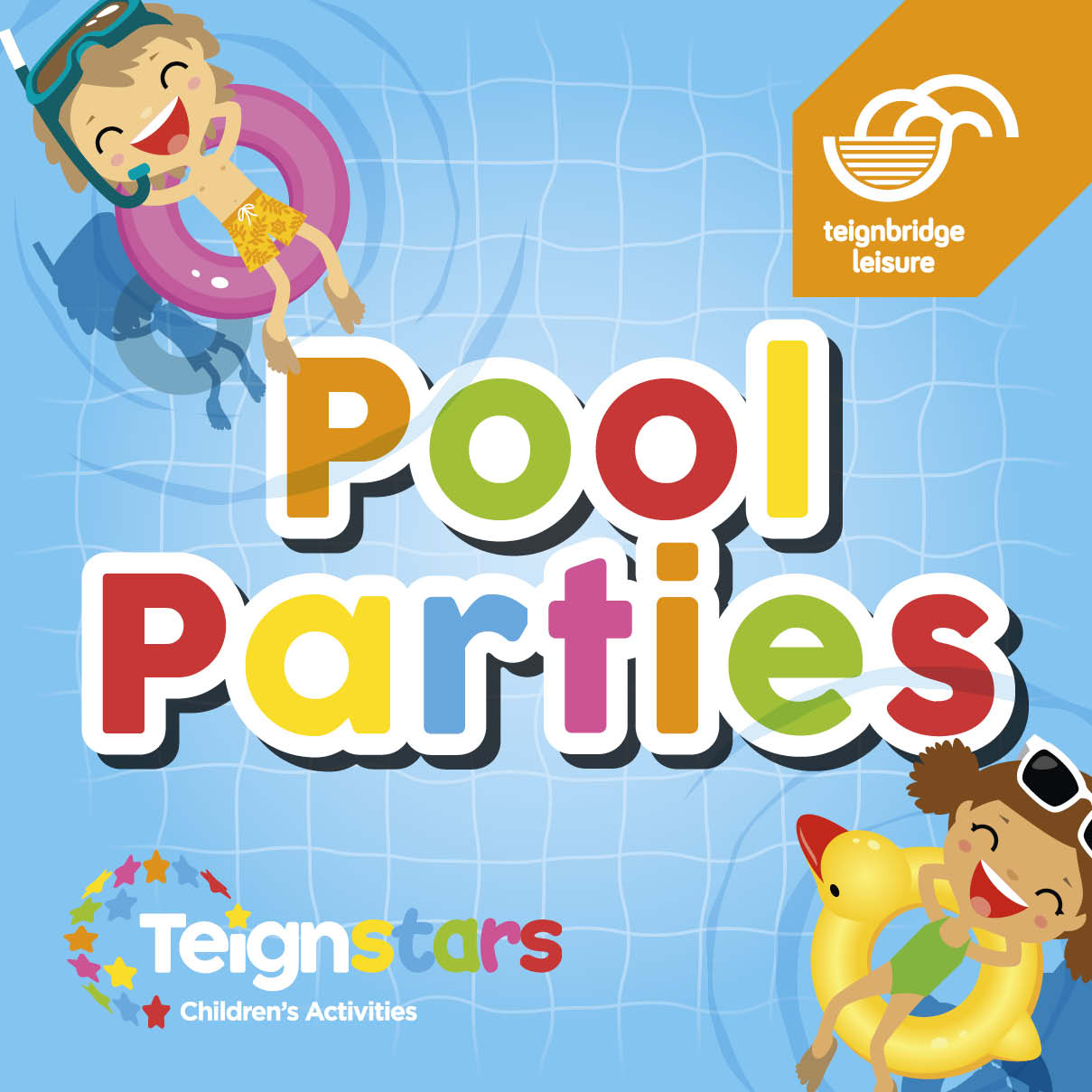 Pool Parties at Newton Abbot Leisure Centre