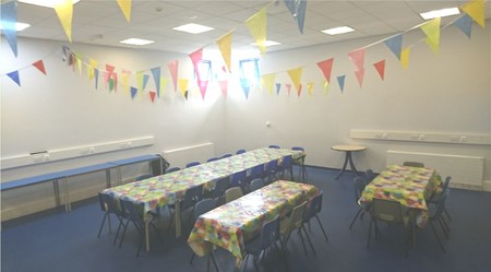 Newton abbot LC party room