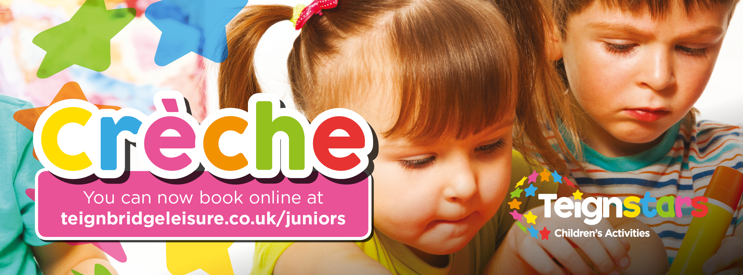 Book your next Creche Session Online