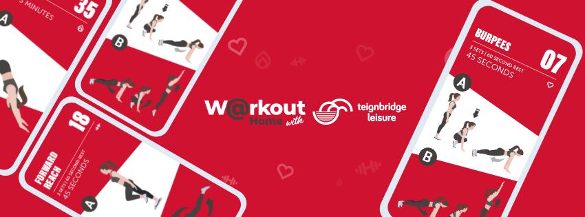 Teignbridge Leisure Workout@Home Online Exercise Classes